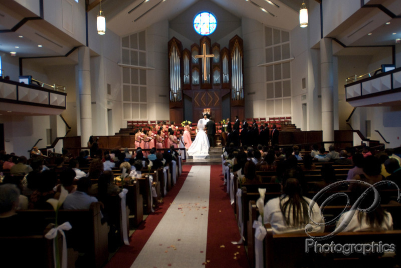 Foundry United Methodist Church, Houston, Texas, Foundry UMC wedding ceremony
