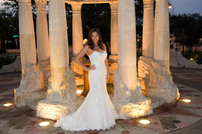 this is an image of a recent bridal session taken in Houston